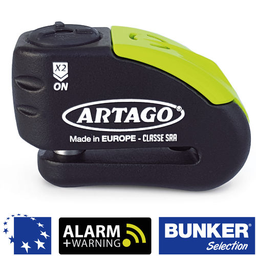 Disco+alarma ARTAGO 30X14 bunker selection