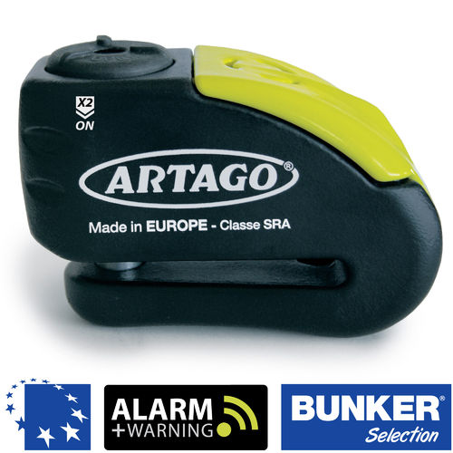 Disco+alarma ARTAGO 30X10 bunker selection