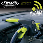 ARTAGO 870 NEW Steering-wheel lock + hi-tech ALARM